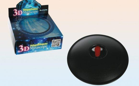 Mirascope mirage 3d hologram