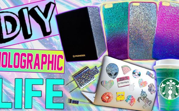 DIY Holographic iPhone Cases!
