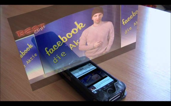 IPhone 4s Hologram Video