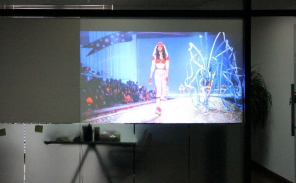 Holographic image projection
