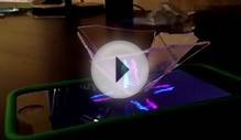 3D iPhone 5 Hologram