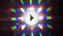 Burning Magnesium with Diffraction Grating Lens