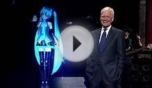 David Letterman Features Japanese Anime Hologram Star