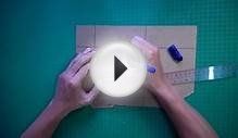How to make 3D Hologram projector - acrylic sheet