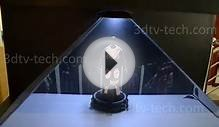 DIY 3D Holographic Projection Pyramid for SmartPhones